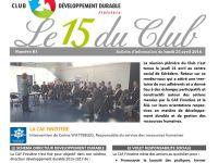 Le 15 du Club n°81