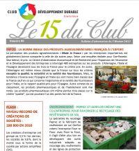 Bulletin 15 du Club N° 88