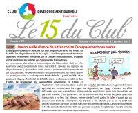 Bulletin 15 du Club N° 85